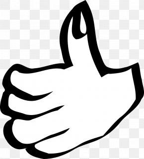 Lucky Symbols - Thumb Signal Smiley Clip Art PNG