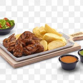 Barbecue - Potato Wedges Barbecue Hamburger French Fries Asado PNG