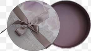 Purple Ribbon Gift Box - Gift Box Ribbon PNG