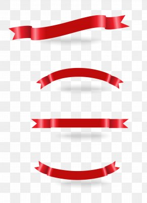 Red Ribbon Banner Download - Ribbon Download Euclidean Vector PNG