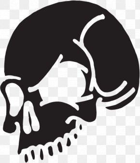 Sticker Skull And Crossbones Adhesive Clip Art PNG