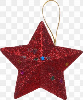 Star Christmas Tree - New Year Tree Christmas Ornament Yolki PNG