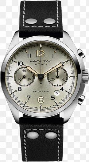 Watch - Hamilton Khaki Aviation Pilot Auto Hamilton Watch Company Lancaster Chronograph PNG