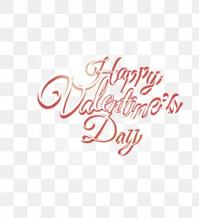 Vector Happy Valentine's Day Everyone - Valentine's Day Font PNG