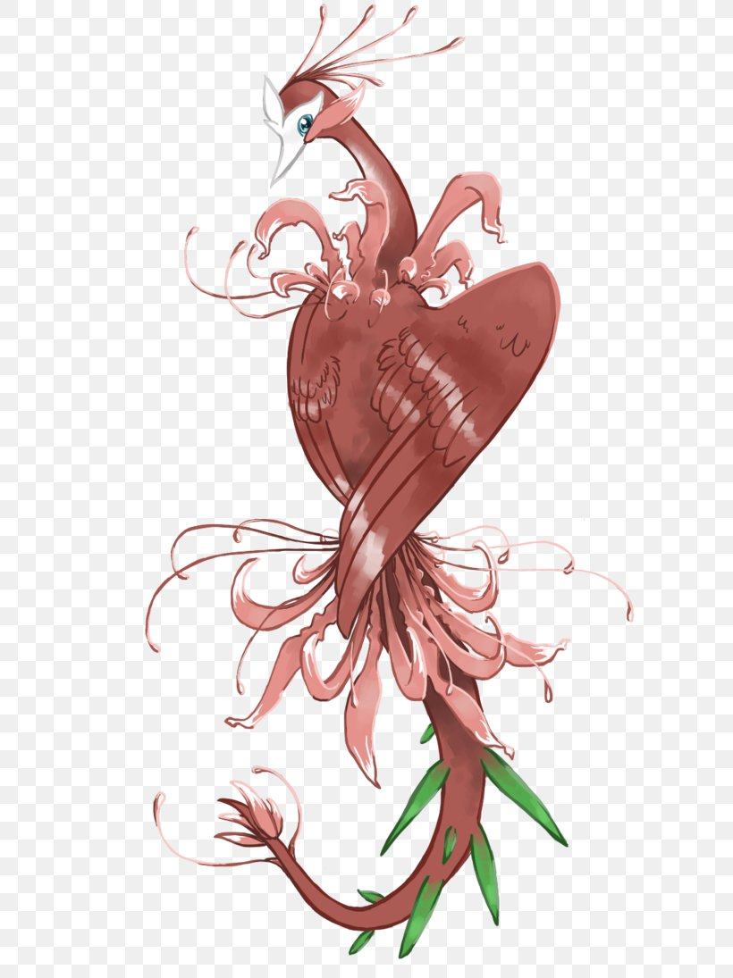 Red Spider Lily Tattoo Drawing Bird Png 730x1095px Red Spider