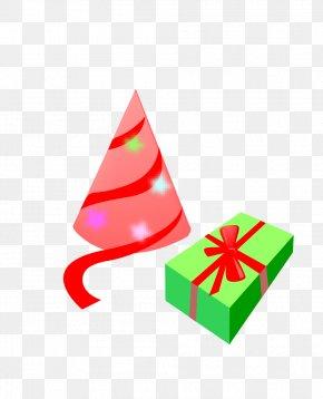 Green Gift Box - Gift Box PNG