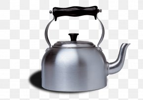 Portable Stainless Steel Kettle - Kettle Stainless Steel Metal Tableware PNG