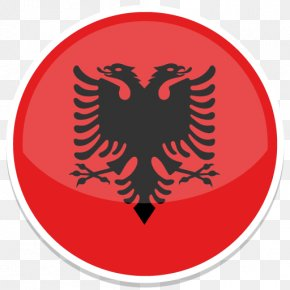 Albania - Symbol Logo Circle Font PNG