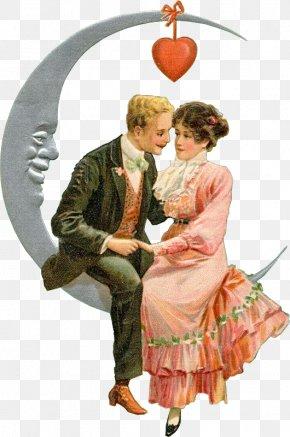 Valentine's Day - Victorian Era Valentine's Day Love Diary Book PNG