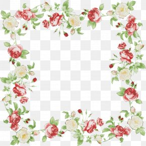 Rose Family Floral Design - Floral Design PNG