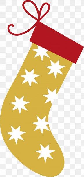 Christmas Stockings Vector - Christmas Stockings Sock Gift Santa Claus PNG