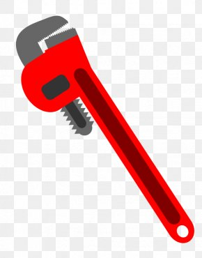 Home Improvement Clipart - Hand Tool Pipe Wrench Spanners Adjustable Spanner Clip Art PNG
