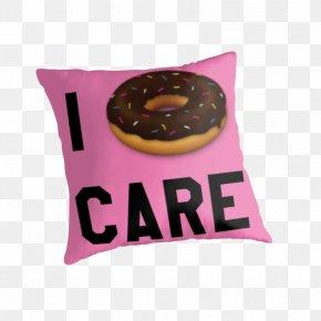 Pillow - Throw Pillows Cushion Textile Pink M PNG