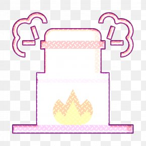 Pink Text - Coffin Icon Cremation Icon Cultures Icon PNG