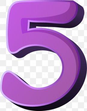 Number 5 - Number Clip Art PNG