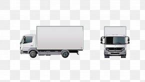 Truck - Truck Van Cargo Intermodal Container PNG