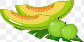 Summer Summer Fruit Melon Melon - Cartoon Summer Fruit PNG