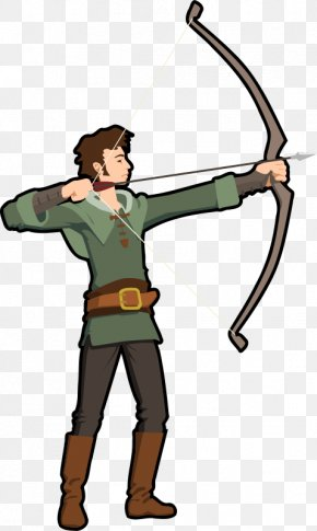 Aim Cliparts - Archery Bow And Arrow Clip Art PNG