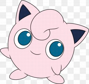 Eye Pink - Cartoon Nose Snout Head Whiskers PNG