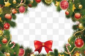 Christmas Wreath - Santa Claus Christmas Ornament Christmas Tree Gift PNG