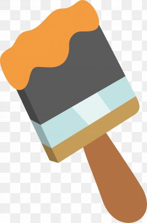 Pictures Of A Paint Brush - Paintbrush Painting Clip Art PNG