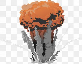 Explosion - Nuclear Explosion Bomb Nuclear Weapon Clip Art PNG