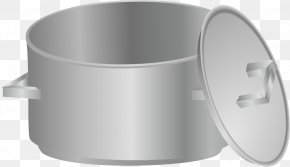 Pan Cliparts - Red Cooking Stock Pot Cookware And Bakeware Clip Art PNG