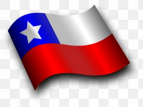 Chile Flag Hd - Flag Of Chile Clip Art PNG