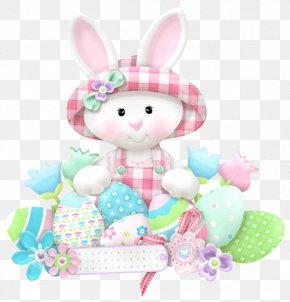 Easter White Bunny Clipart - Easter Bunny Rabbit Easter Egg Clip Art PNG