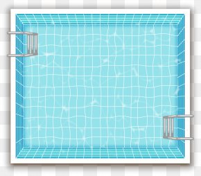 Vector Painted Swimming Pool - Swimming Pool Euclidean Vector PNG