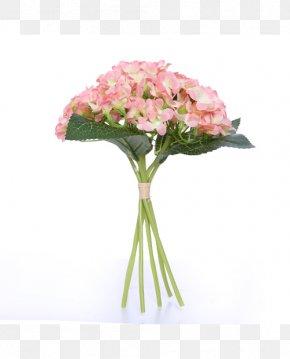 Hydrangea - Flower Bouquet Artificial Flower Rose Hydrangea PNG