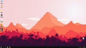 Mountain - Firewatch Desktop Wallpaper Video Game 1080p Wallpaper PNG