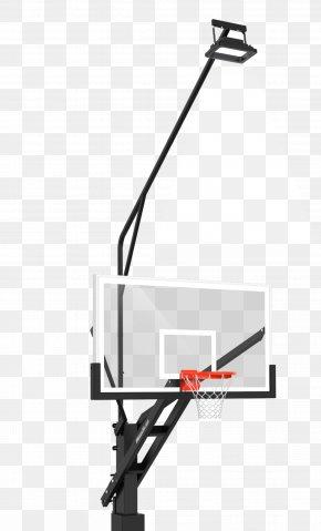 Lighted Basketball Court Markings - Basketball Backboard Canestro Breakaway Rim Slam Dunk PNG