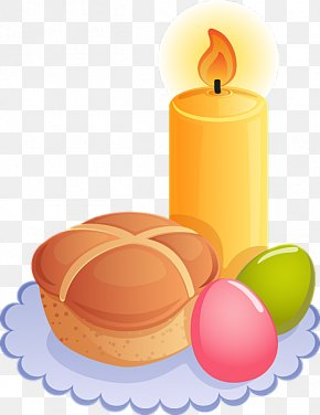 Easter Candle Cliparts - Easter Bunny Religion Paschal Candle Clip Art PNG