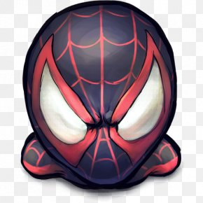 Comics Spiderman Morales - Bicycle Helmet Protective Gear In Sports Protective Equipment In Gridiron Football Motorcycle Helmet PNG