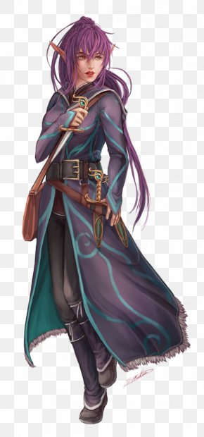 Dnd Elf - Dungeons & Dragons Pathfinder Roleplaying Game Wizard Elf D20 System PNG