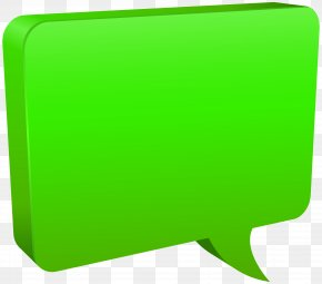 Speech Bubble Green Clip Art Image - Speech Balloon Clip Art PNG