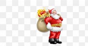 Santa Claus Gift - Santa Claus North Pole Christmas Clip Art PNG