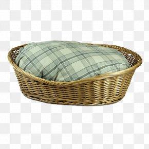Bamboo Basket - Dog Wicker Basket Pet Bed PNG