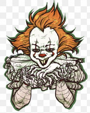 Pennywise The Clown - It Cartoon Comics Drawing PNG