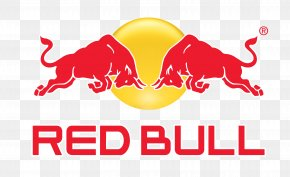Bull - Fizzy Drinks Red Bull Logo Beverage Can PNG