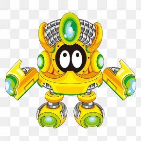 Cartoon Robot - Robot Cartoon Clip Art PNG