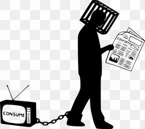 Cartoon New Media - Social Media Icons Background PNG