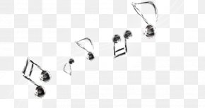 Musical Note - Musical Note Black And White Clave De Sol Staff PNG