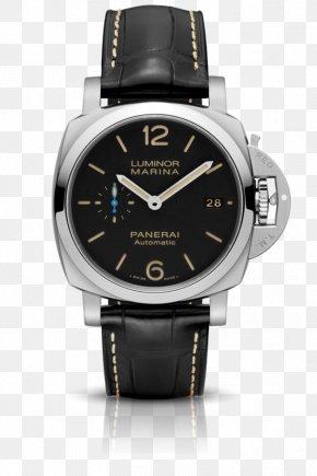 Watch - Panerai Men's Luminor Marina 1950 3 Days Automatic Watch Movement PNG
