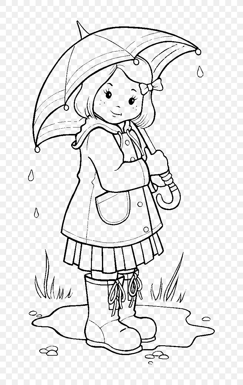 - Coloring Book Rain Colouring Pages Wet Season, PNG, 768x1299px