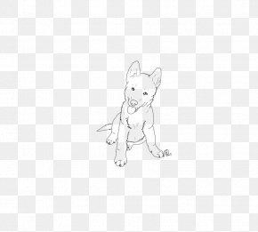 Husky Dog - Siberian Husky Puppy Whiskers Line Art Sketch PNG