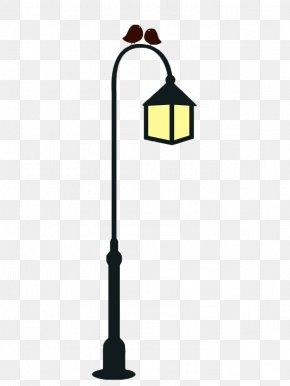 Hand Painted Street Light Poles - Street Light Light Fixture Candelabra Icon PNG