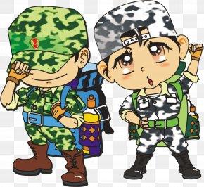 Military Training - Summer Camp Child Cartoon U9999u6e2fu9752u5c11u5e74u519bu4e8bu590fu4ee4u8425 PNG
