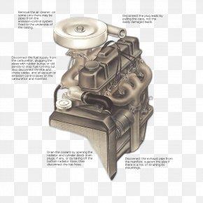 Cast Cylinder - Car Air Filter Cylinder Head Overhead Valve Engine PNG